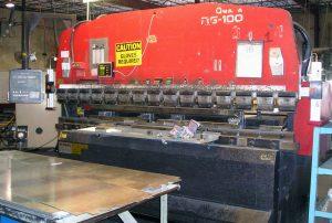 press brake safety system - laser sentry